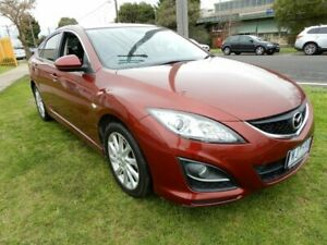 2011 Mazda 6 GH1052 MY10 Classic Red 5 Speed Sports Automatic Hatchback Moorabbin Kingston Area Preview