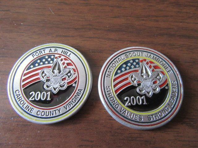 2001 National Jamboree Official Coin