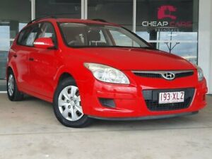 2009 Hyundai i30 FD MY09 SX cw Wagon Red 4 Speed Automatic Wagon Brendale Pine Rivers Area Preview