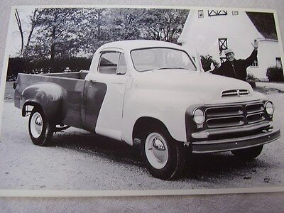 1956   STUDEBAKER   PICKUP    12 X 18 LARGE PICTURE   PHOTO