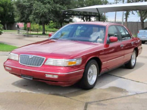 Selling a 1997 grand marquis mercury