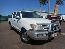 2007 Toyota Hilux  White Automatic Winnellie Darwin City Preview
