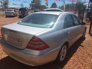 2001 Mercedes-Benz C200 DT Silver 4 Speed Automatic Sedan Hidden Valley Darwin City Preview