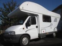 2006 HYMER CLASSIC, 6 BERTH, END BUNKS, REAR GARAGE MOTORHOME FOR SALE