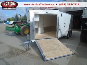 YOUR LOWEST PRICED DELUXE SLED TRAILER/ALL PURPOSE 7X19' London Ontario image 1