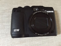 Canon Powershot G16-well looked after, in perfect condition