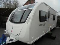 2013 Sterling Eccles Sport 564 SR 4 Berth Caravan For Sale.Fixed Beds.Motormover