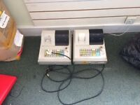 Second hand but in full working order cash registers