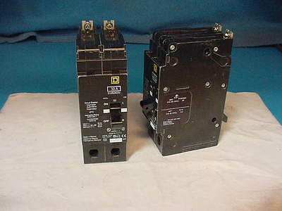 Square D EDB34060 60 AMP 480 VOLT 3 POLE Circuit Breaker WARRANTY