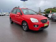 2010 Kia Rondo UN MY10 EX Red 4 Speed Sports Automatic Wagon Goulburn Goulburn City Preview
