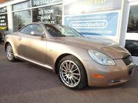 Lexus SC 430 4.3 auto 2002 Cat D Dec 2012 S/H Low miles 78k p/x