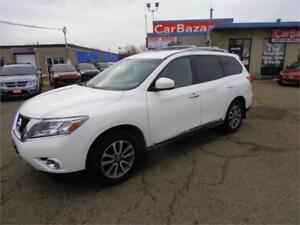 2014 Nissan Pathfinder SL Leather 7 Pssg Camera 4WD Easy Finance