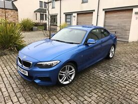 2015 BMW 2 SERIES 1.5 218i M Sport Coupe Auto 2dr (start/stop)