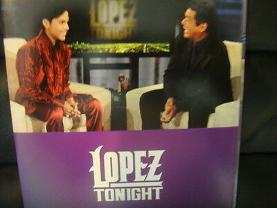 George Lopez Tonight Emmy Dvd  Prince    New Power Generation Tbs Live Interview