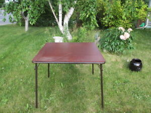 Camping or Picnic Folding Table
