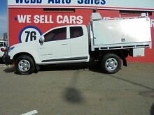 2012 Holden Colorado RG MY13 LX Space Cab White 5 Speed Manual Cab Chassis Welshpool Canning Area Preview
