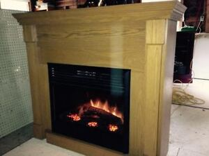 Dimplex Electric Heater with Mantle