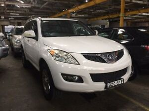 2011 Great Wall X240 CC6461KY MY11 (4x4) White 5 Speed Manual Wagon Georgetown Newcastle Area Preview
