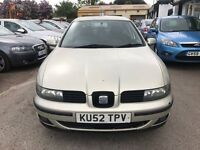 2003 Seat Toledo 1.9 TDI SE 4dr, GOOD CHEAP RUNNER,