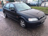 Honda Civic 1.4 12 months mot cheap car 1 previous owner good service istory