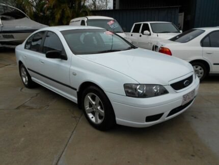2006 Ford Falcon BF XT White 4 Speed Auto Seq Sportshift Sedan Yeerongpilly Brisbane South West Preview