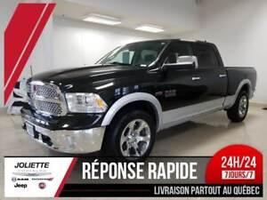 2018 Ram 1500 Laramie, CREW, 4X4, BOITE LONGUE, 5.7L HEMI, CUIR.
