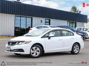 2013 Honda Civic Sdn LX,B.TOOTH,USB,HEATED SEATS