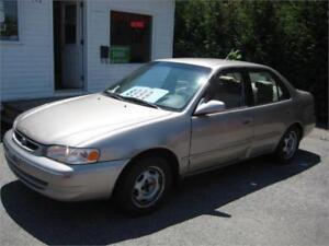1998 Toyota Corolla LE,  AUTOMATIQUE