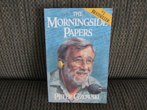"The Morningside Papers by Peter Gzowski   ""Best Seller"""