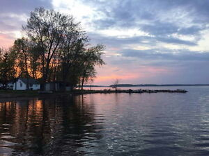 Waterfront Lakeview Cottage Boat Motor Rent Fishing Camping BBQ+