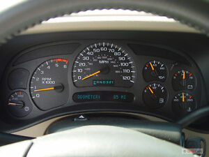 2003-2006 GMC or Chevy Instrument cluster