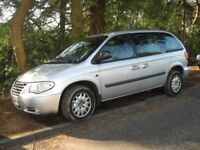 2005 CHRYSLER VOYAGER 2.5 DIESEL 7 SEATER MOT POSS/PART X