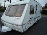 SWIFT UTOPIA 500 FIXED BED 2002, 4 BERTH