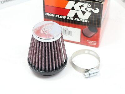 Sportluftfilter Luftfilter schwarz Anschlußweite 38-40 mm 45 Grad NEU