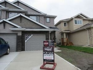 Duplex for sale Fort Saskatchewan Southpoint only $1,308/month