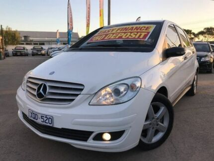 2005 Mercedes-Benz B200 W245 White 7 Speed Constant Variable Hatchback Maidstone Maribyrnong Area Preview