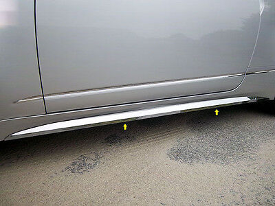 QAA 4PC STAINLESS STEEL ROCKER PANEL TRIM FITS 2011-2014 CADILLAC CADY CTS COUPE
