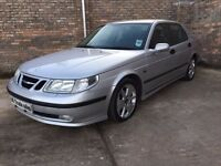 2004 SAAB 9-5 AERO 2.3T ***FULL YEARS MOT*** similar to golf focus civic 308 megane clio polo