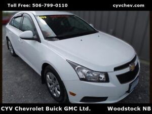2014 Chevrolet Cruze 1LT - 0.9% - Remote Start, Bluetooth & Auto