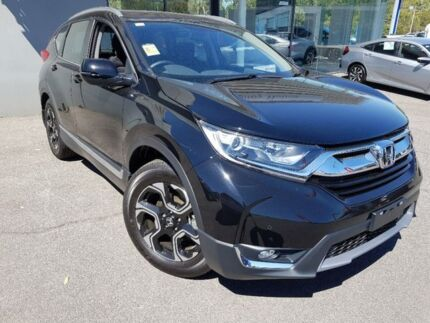 2018 Honda CR-V Black Constant Variable Wagon Traralgon Latrobe Valley Preview