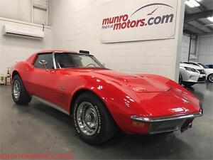 1970 Chevrolet Corvette 454 Corvette T Tops Coupe Red 4 Speed