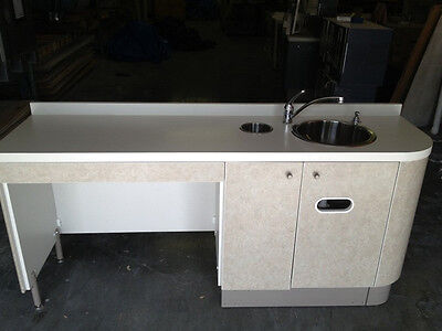 A-dec Preference Iii 5531 Side Cabinet 72 Sink Console Adec Dental Cabinetry