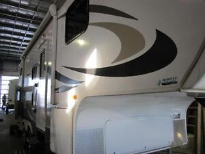 2014 27 FT CROSSROADS RV ZINGER ZF25BH 5TH WHEEL