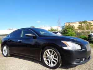 2009 Nissan Maxima SPORT-V6-LEATHER-SUNROOF-BACK UP CAMERA