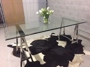 Glass Dining Table Coorparoo Brisbane South East Preview