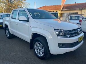 2015 Volkswagen Amarok 2H MY15 TDI420 Trendline (4x4) White 8 Speed Automatic Dual Cab Utility Waratah Newcastle Area Preview