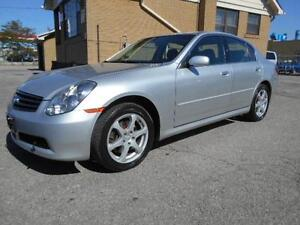2006 INFINITI G35x Sedan Luxury 3.5L V6 Leather Sunroof 210,000K