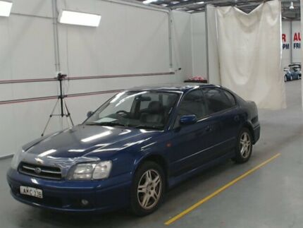 2001 Subaru Liberty MY02 Heritage (AWD) Blue 4 Speed Automatic Sedan Warabrook Newcastle Area Preview