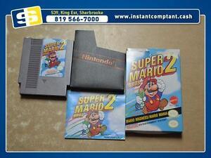 Super Mario Bros 2 dans sa boite