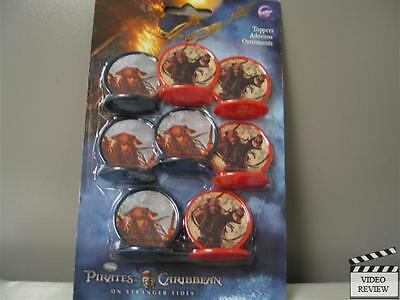Pirates of the Caribbean on Stranger Tides Toppers; Johnny Depp; CupCake; Wilton (Halloween Red Cupcakes)